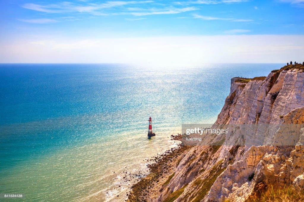 beautiful landscape of Beachy head : Stock Photo