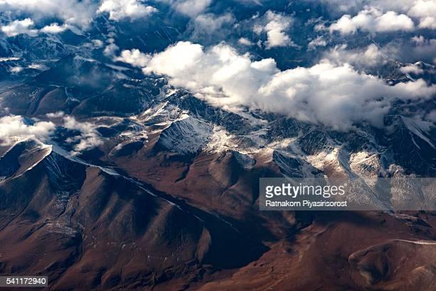 Beautiful landscape of Khunjerab Pass