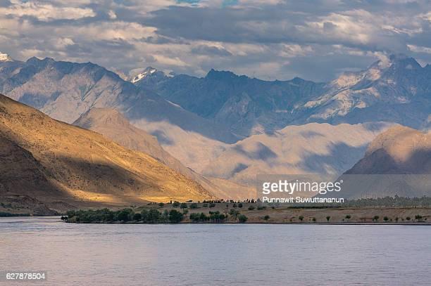 beautiful landscape of skardu village, pakistan - skardu stock pictures, royalty-free photos & images