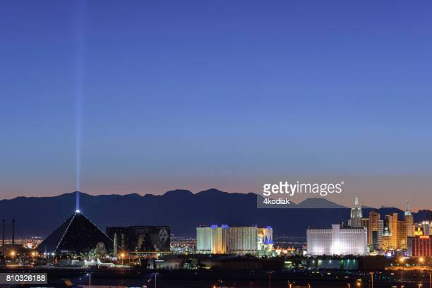 Beautiful Las Vegas after Sunset