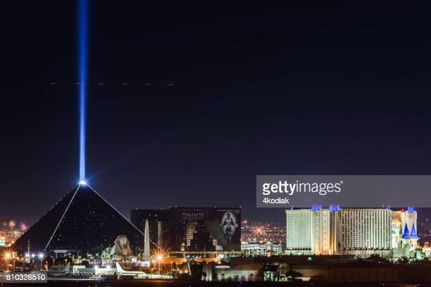 Beautiful Las Vegas after Sunset