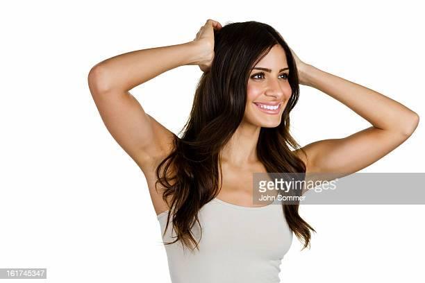 hermosa mujer latina - cami fotografías e imágenes de stock