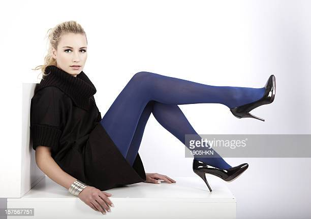 beautiful legs - beautiful long legs stock pictures, royalty-free photos & images