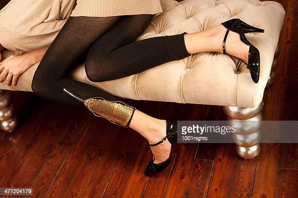 Black women with pretty feet-4905