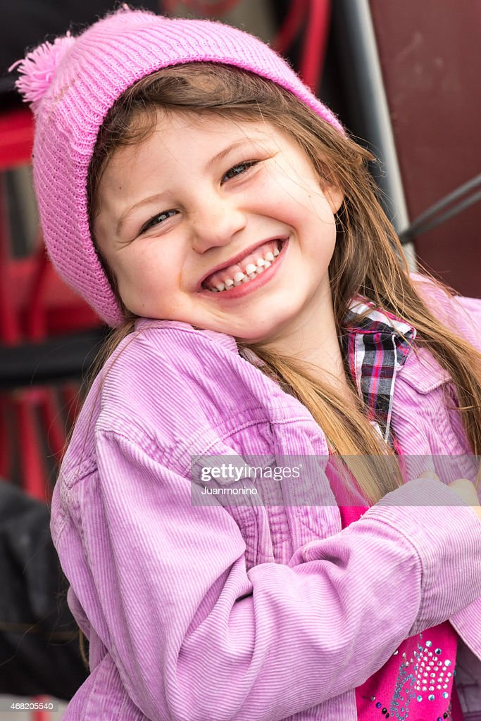 Beautiful little girl : Stock Photo