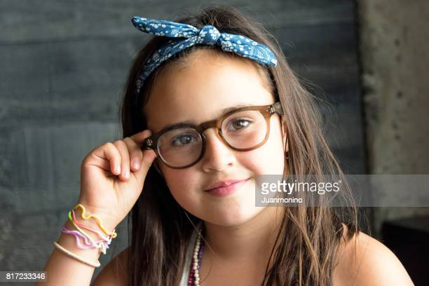 beautiful little girl - beautiful mexican girls stock photos and pictures