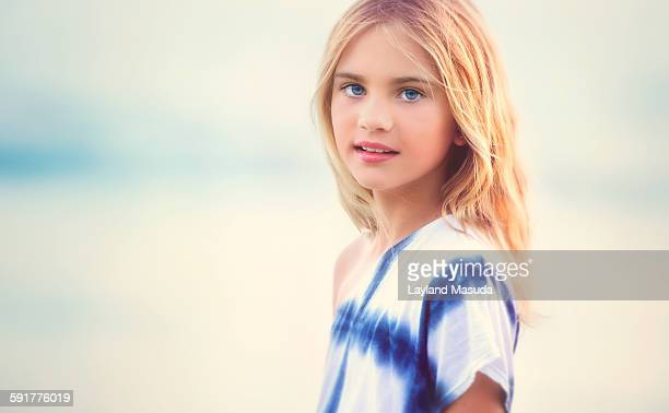 Beautiful little sunshine girl