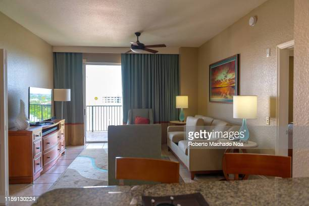 A beautiful living room in The Wyndham PalmAir resort which belongs to Wyndham Club The club offers more than a 100 resorts in North America and the...