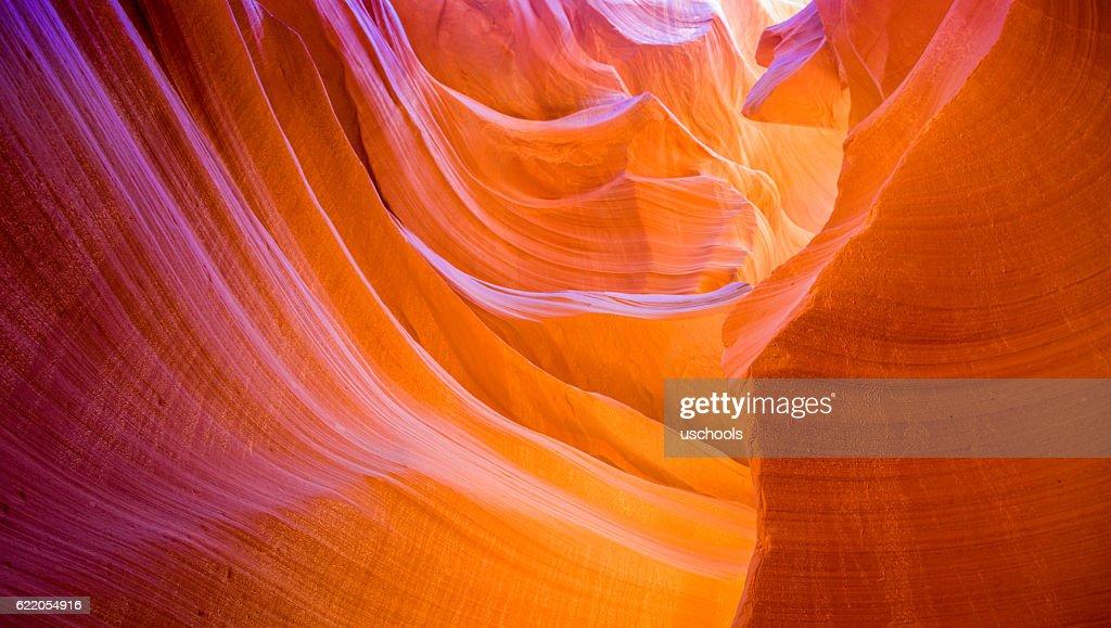 beautiful Lower Antelope Canyon : Stock Photo