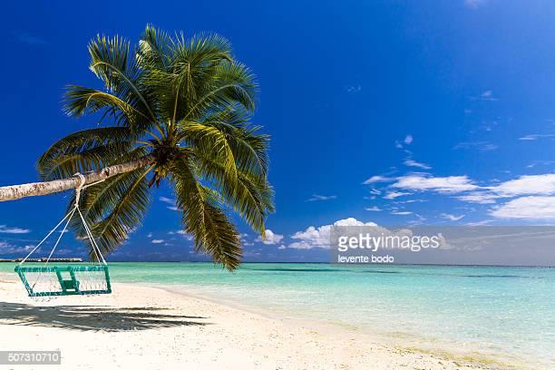 Beautiful Maldives beach