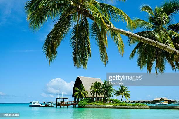 Wunderschönen Malediven Flitterwochen Island und Sommer-Resort