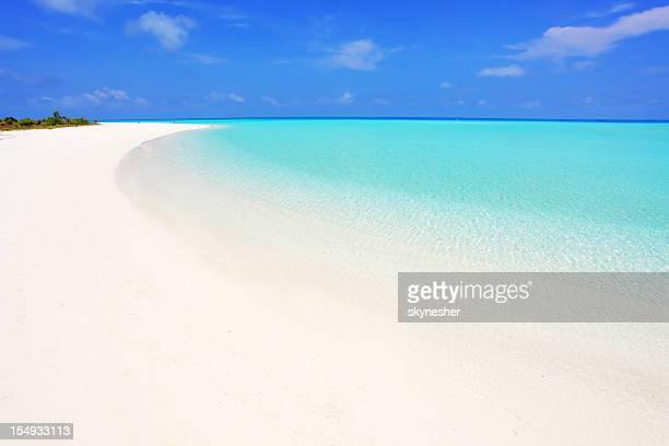 Beautiful Maldives seascape