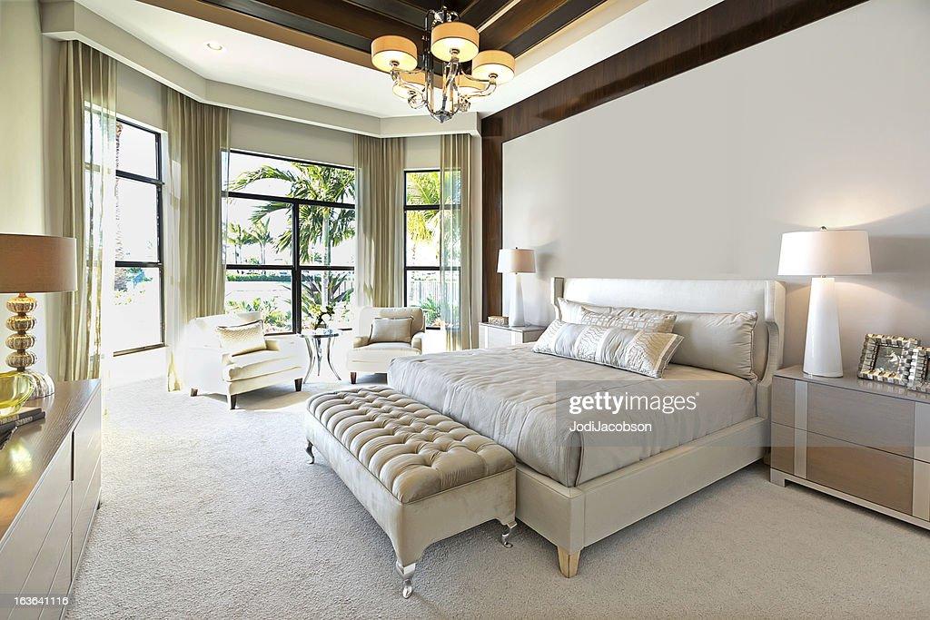 Beautiful Master Bedroom : Stock Photo