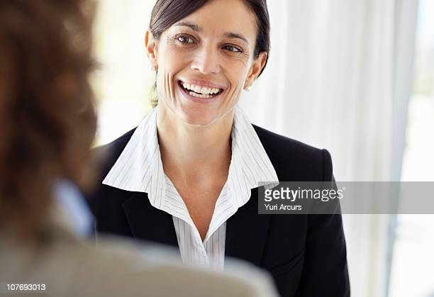 beautiful mature businesswoman smiling - number of people stock photos and pictures