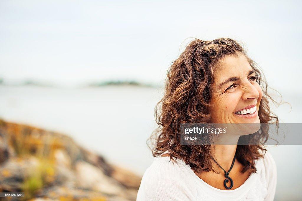 Schöne Ältere Frau : Stock-Foto