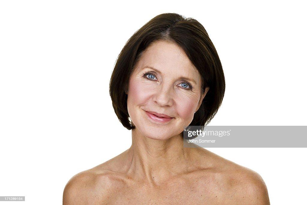 Beautiful mature woman : Stock Photo