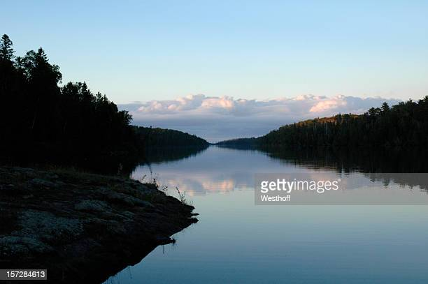 beautiful mccargoe cove - upper peninsula stock pictures, royalty-free photos & images