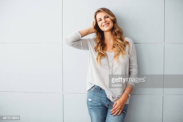 beautiful mid-age woman. - pretty older women stock pictures, royalty-free photos & images
