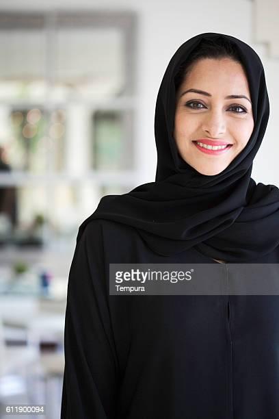 Beautiful middle eastern woman in Hijab.