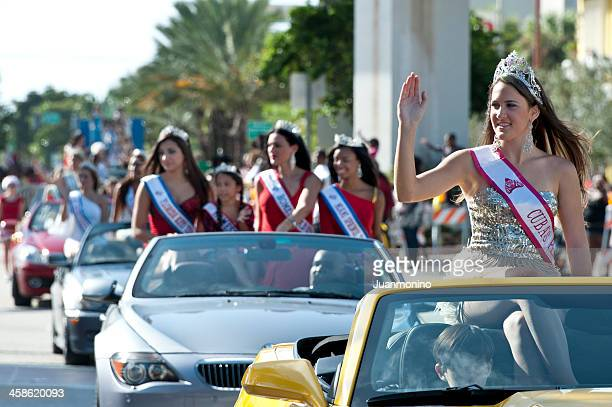 Beautiful Misses at a Parade