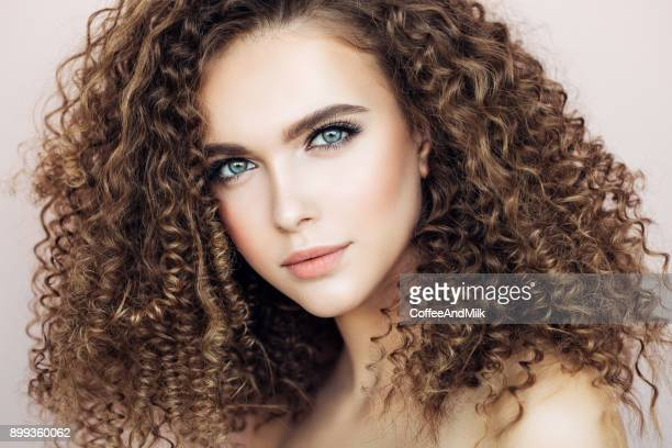 World S Best Curly Hair Stock Pictures Photos And Images