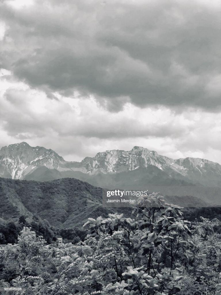 Beautiful mountains : Stock-Foto