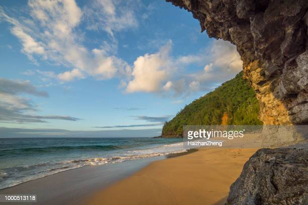 Ke E Beach Stock Pictures Royalty Free