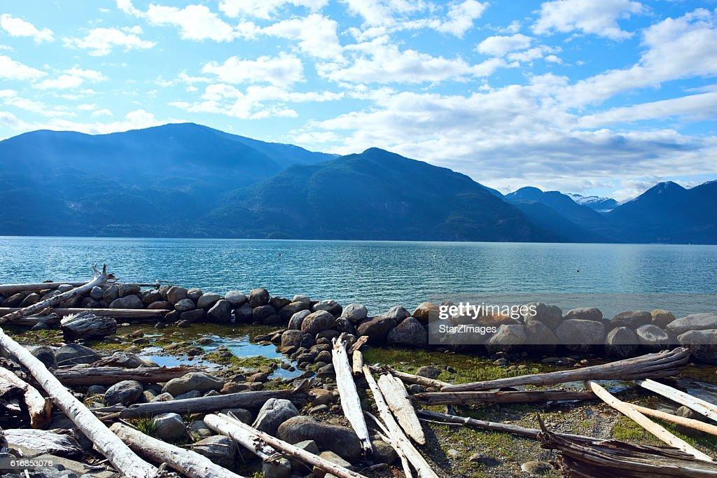 Beautiful nature with mountain : Stock Photo