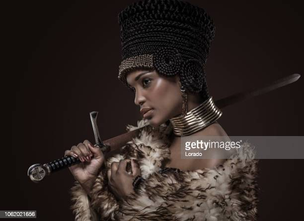 beautiful nefertiti woman - egyptian culture stock photos and pictures