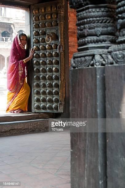 beautiful Nepalese woman