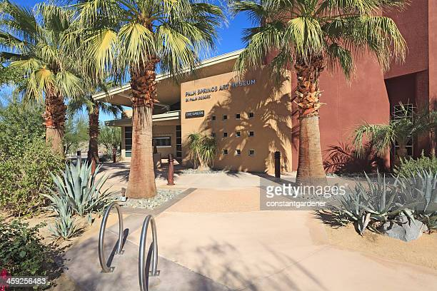 beautiful new palm springs art museum - palm springs stock pictures, royalty-free photos & images