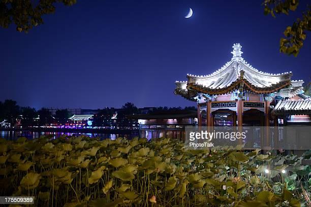 Beautiful Night Scene of Houhai Lake - XXXLarge