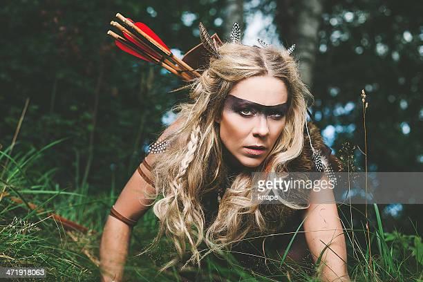 Elfe guerrier Princesse du Nord