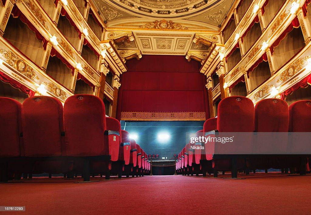 beautiful old  theatre : Stock Photo
