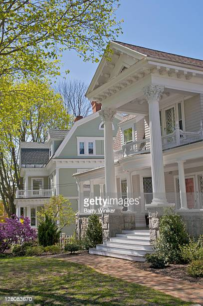 Beautiful older homes, Andover, Massachusetts, USA