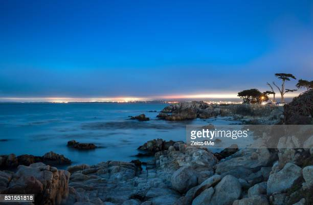 Beautiful Pacific Grove at Twilight