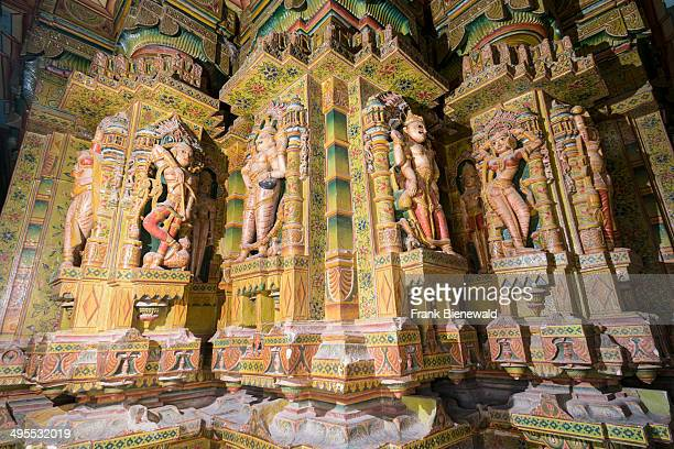 Beautiful paintings inside the Bhandasar Jain Temple It was built by a Jain merchant Bhanda Shah and is dedicated to the fifth Tirthankara Sumatinath