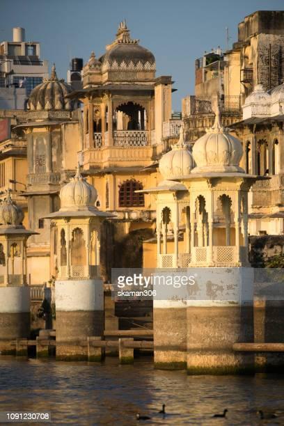 beautiful palace around pichola lake near udaipur palace Udaipur Rajasthan india