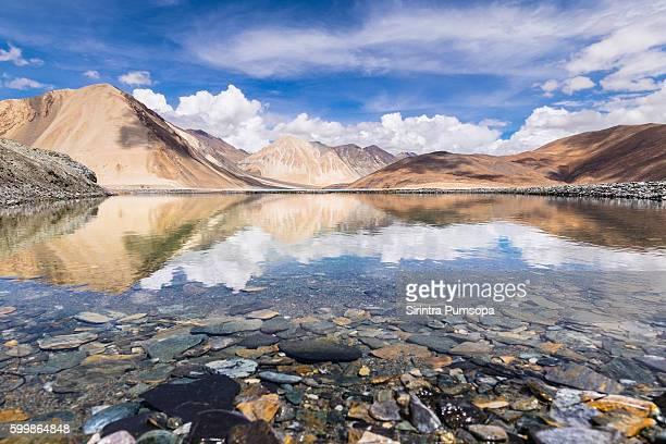 Beautiful Pangong Lake, Leh-Ladakh, Jammu and Kashmir, India