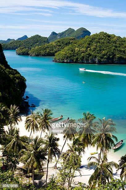 Wunderschöne paradise beach auf den Anthong National Park
