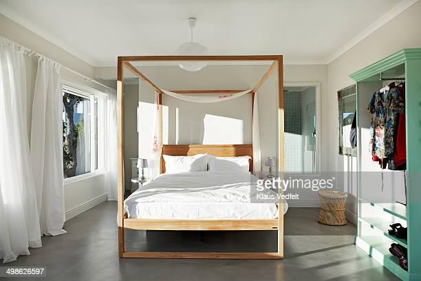 Beautiful penthouse bedroom