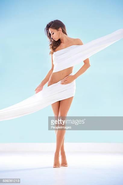 hermoso la perfección - mujer desnuda cuerpo entero fotografías e imágenes de stock