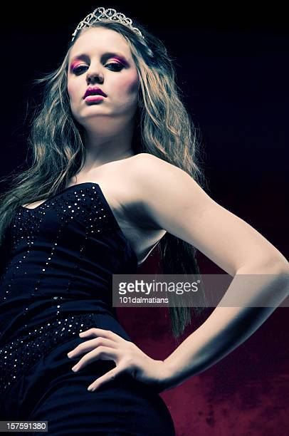beautiful princess - tall blonde women stock photos and pictures