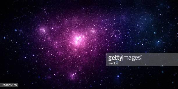Espaço Nebulosa Roxo