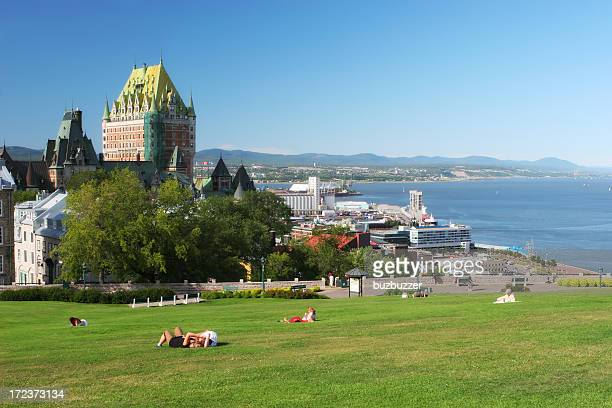 Beautiful Quebec City in Summer
