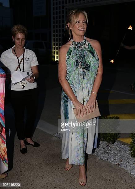 Beautiful Rebecca Gibney enjoyed the MKR launch party on January 27 2016 in Brisbane Australia