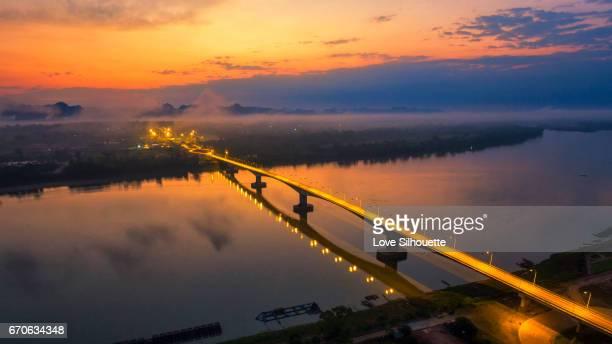 Beautiful relationship bridge,