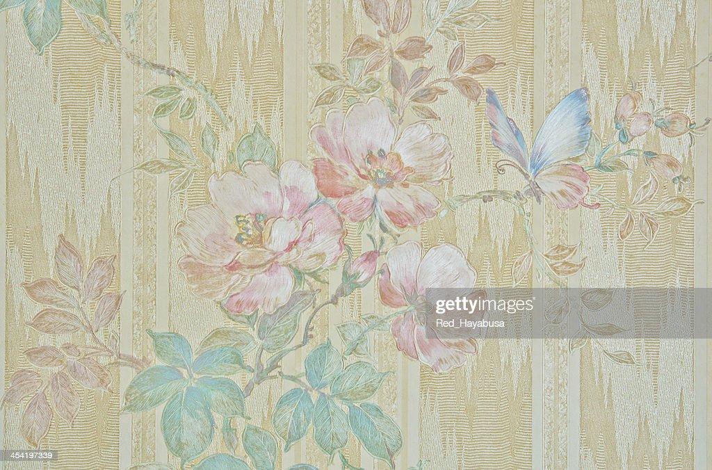 Beautiful retro roses background : Stock Photo