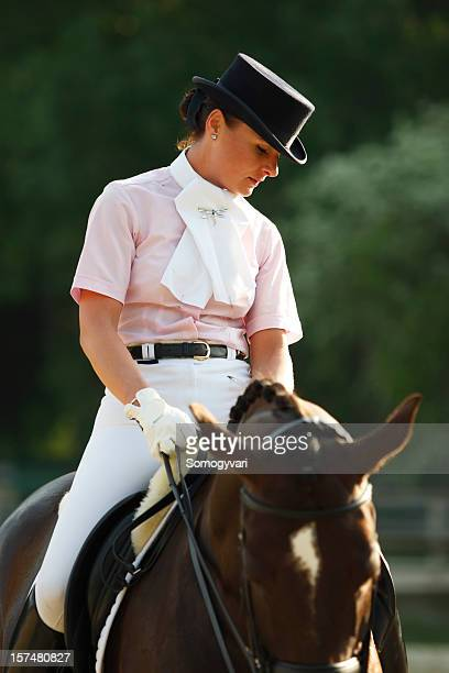 beautiful rider - riding hat stock pictures, royalty-free photos & images
