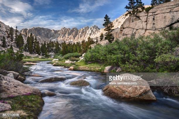 Beautiful Rock Creek in the Miter Basin